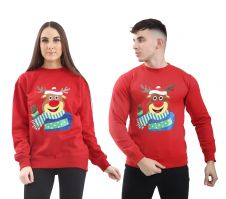Adult Christmas Reindeer Top
