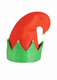 Adult Elf Hat With Bells
