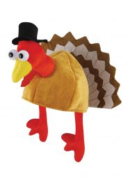 Adult Hat With Turkey 28x45cm