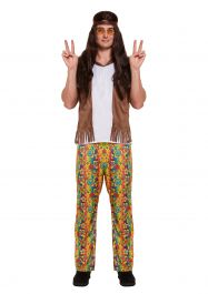 Adult Hippie Man Costume