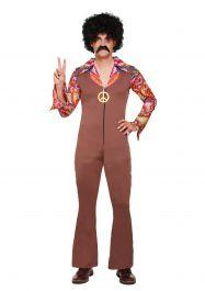 Adult Hippie 70s Costume