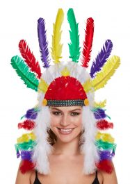 Adult Indian American Headdress