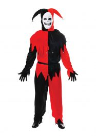 Adult Jester Evil Costume