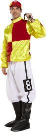 Adult Jockey Red-yellow