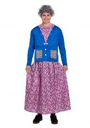 Adult Naughty Grandma Costume