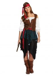 Adult Pirate Caribbean Lady