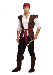 Adult Pirate Caribbean Man