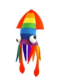 Adult Rainbow Squid Hat