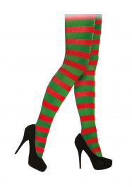 Adult Red Green Tights