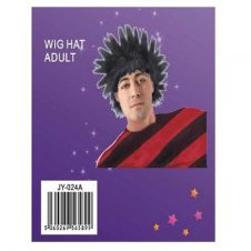 Adult Scrufy Wig Black