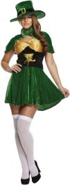 Adult Sexy Leprechaun Lady Costume