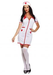 Adult Sexy Nurse Dress Up Costume