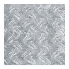 Alfer Checkerplate Aluminium Sheet - 120 x 1000 x 1.5mm