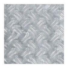 Alfer Checkerplate Aluminium Sheet - 250 x 500 x 1.5mm