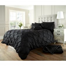 ALFORD DUVET SET BLACK