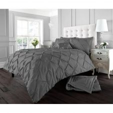 ALFORD DUVET SET CHARCOAL