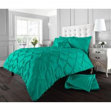 ALFORD DUVET SET DEEP TEAL