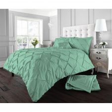ALFORD DUVET SET PEPPERMINT