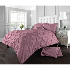 ALFORD DUVET SET ROSE