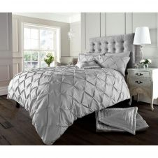 ALFORD DUVET SET SILVER