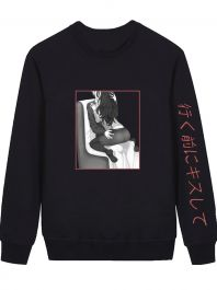 Allure - Black Sweatshirt