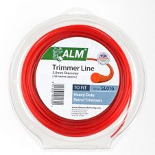 ALM Trimmer Line -  Red - 3mm x 55m approx
