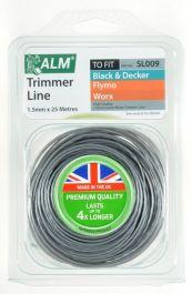 ALM Trimmer Line - Grey - 1.5mm x 25m
