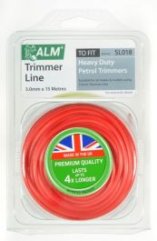 ALM Trimmer Line - Red - 3.0mm x 15m