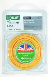ALM Trimmer Line - Yellow - 2.4mm x 20m