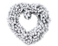 Ambassador Snowy Heart - 50cm