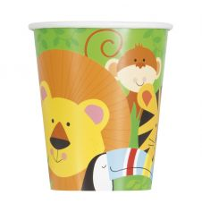 Animal Jungle Cups (Pack of 8)