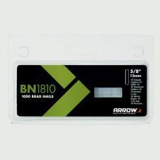 Arrow Brown Brads - 15mm (1000)