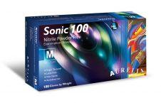 Aurelia Sonic Powder Free Nitrile Glove - Pack 100 Medium