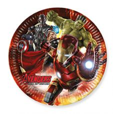 Avengers 2 Age of Ultron 23 cm Plates (Pack of 8)
