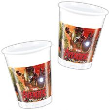 Avengers 2 Age of Ultron Plastic Cups 200ml (Pack of 8)