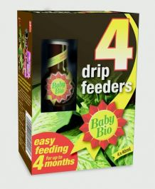 Baby Bio Drip Feeders 40ml - Pack of 4