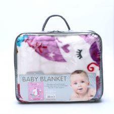 BABY BLANKET 80x110 Cm UNICORN - 2865