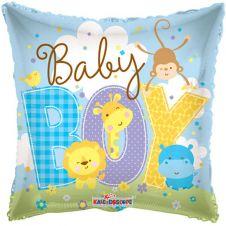 Baby Boy Animals Balloon (18 Inches)