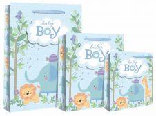 Baby Boy Scene Gift Bag