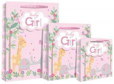 Baby Girl Scene Gift Bag