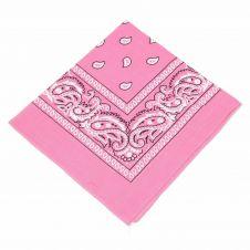 Baby Pink Paisley Bandana (1 Dozen)
