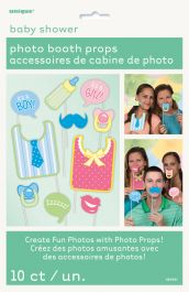 Baby Shower Photo Props (Pack of 10)