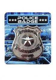 Badge Police 6 X 5.5 Cm