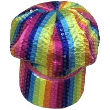 Rainbow Baker Boy Cap