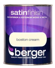 Berger Satin Sheen 750ml - Boston Cream