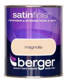 Berger Satin Sheen 750ml - Magnolia