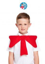 Big Red Crazy Bow Tie