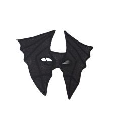 Black Bat Masquerade Mask