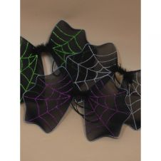 Black Halloween Bat Wings With Glitter