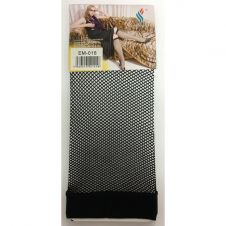 Black Knee Fishnet Sock